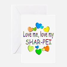 Shar-Pei Greeting Card