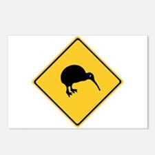 Caution With Kiwis, New Zealand Postcards (Package
