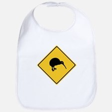 Caution With Kiwis, New Zealand Bib