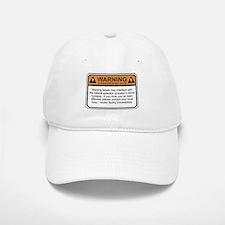 Warning Label Baseball Baseball Cap