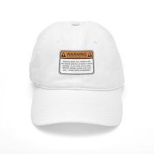 Warning Label Baseball Cap