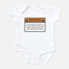 Warning Label Infant Bodysuit