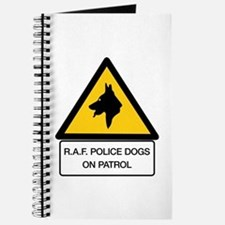R.A.F. Police Dogs On Patrol, UK Journal
