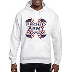 Patriotic Proud Army Dad Hooded Sweatshirt