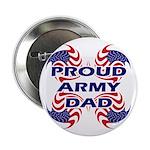 Patriotic Proud Army Dad Button