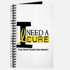 I Need A Cure 1 CHILDHOOD CANCER Journal