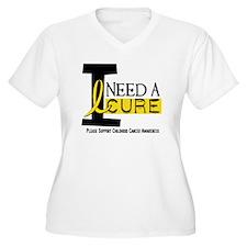 I Need A Cure 1 CHILDHOOD CANCER T-Shirt
