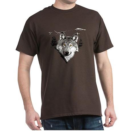The Mighty Grey Wolf Dark T-Shirt