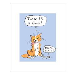 Cat God Posters