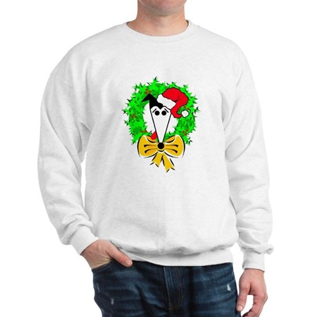 HEISMAN'S HOLIDAY WREATH SWEATSHIRT