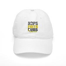 HOPE FAITH CURE Childhood Cancer Baseball Cap