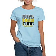 HOPE FAITH CURE Childhood Cancer T-Shirt