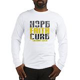 Pediatric cancer Long Sleeve T-shirts