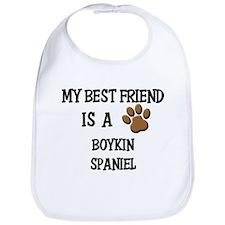 My best friend is a BOYKIN SPANIEL Bib