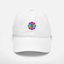 Rainbow Mandala Baseball Baseball Cap