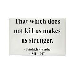 Nietzsche 13 Rectangle Magnet (100 pack)