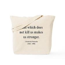 Nietzsche 13 Tote Bag