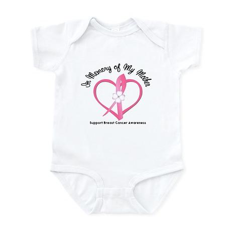 BreastCancerMemoryMother Infant Bodysuit