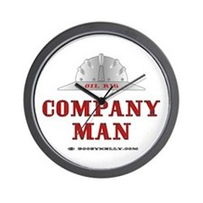 Company Man Wall Clock, Oil Rig, Oil, Gas,