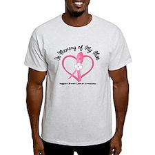 BreastCancerInMemoryMom T-Shirt