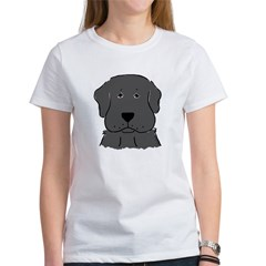 Fun Black Lab Dog Women's T-Shirt