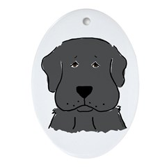 Fun Black Lab Dog Ornament