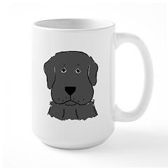 Fun Black Lab Dog Mug