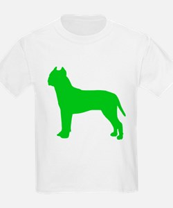 American Staffordshire Terrier St. Patty's Day Kid