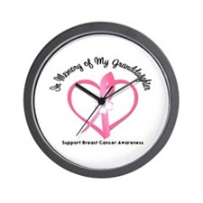 Breast Cancer In Memory Wall Clock