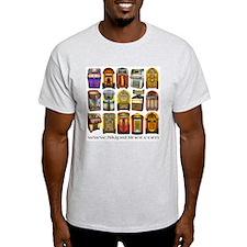 Jukeboxes Galore! Ash Grey T-Shirt