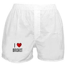 I LOVE BRISKET Boxer Shorts