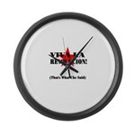 Thats What Che Said Large Wall Clock