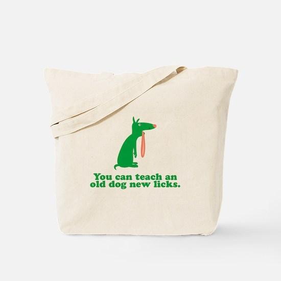 Teach New Licks Tote Bag