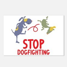 Stop Dogfighting Postcards (Package of 8)