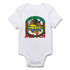 Jazz Fest Drum Infant Bodysuit