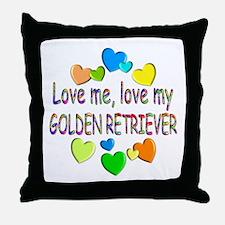 Retriever Throw Pillow