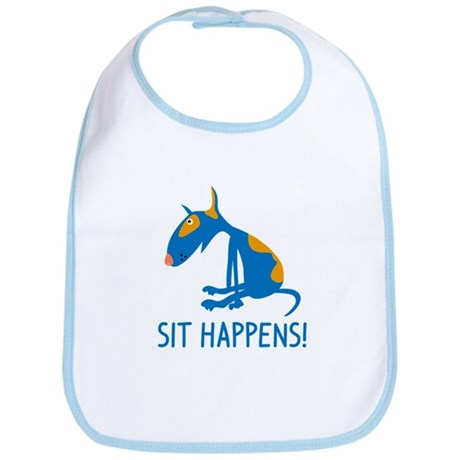 Sit Happens Bib