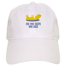 Sleeps With Dogs Baseball Cap