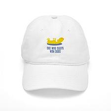 Sleeps With Dogs Baseball Cap