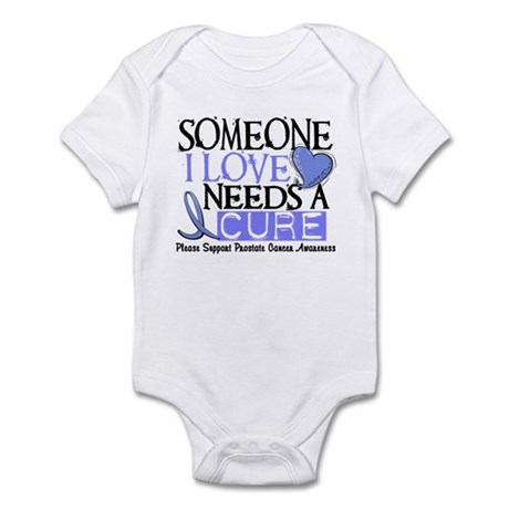 Needs A Cure PROSTATE CANCER Infant Bodysuit