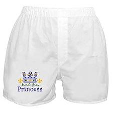 Mardi Gras Princess Boxer Shorts
