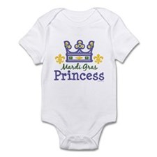 Mardi Gras Princess Infant Bodysuit