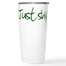 Just Shy - Travel Mug