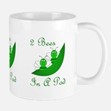 Two Bees In A Pod Mug
