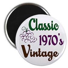 Vintage 1970's Birthday Magnet