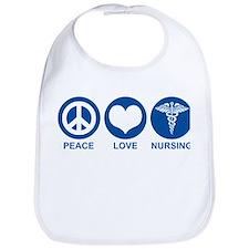Peace Love Nursing Bib