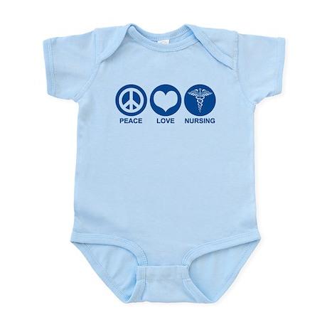 Peace Love Nursing Infant Bodysuit