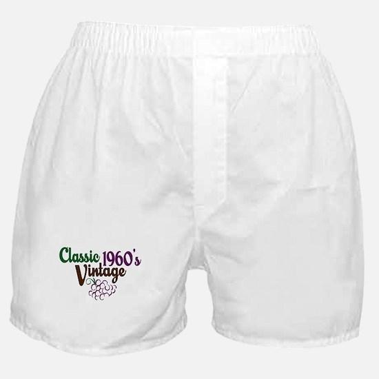 Vintage 1960's Birthday Boxer Shorts