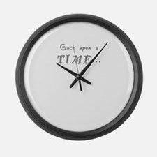 ONCE UPON A TIME... Large Wall Clock