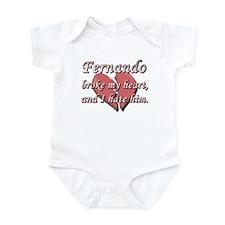 Fernando broke my heart and I hate him Infant Body